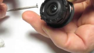 Canon A4000 Lens Reassembly