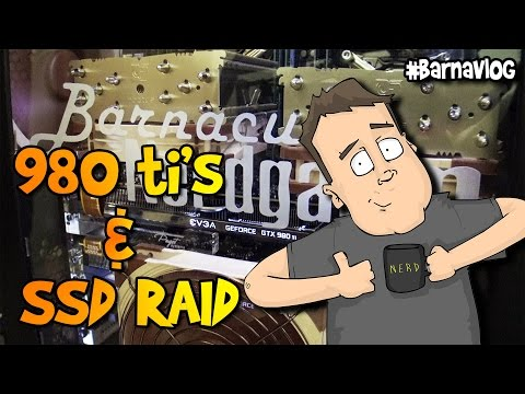 Upgrading to SLI NVidia GTX 980 ti's & RAID SSD's