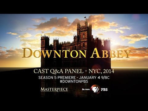 Pbs And Masterpiece Bring You A Downton Abbey Q&a With Fans From Nyc ( Dec. 9, 2014) video