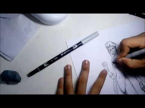 8# Desenhando a Cammy!!!
