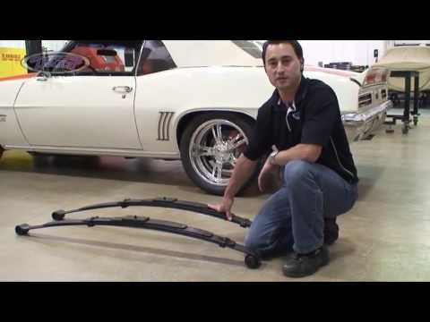 Detroit Speed, Inc - Tech Series - Leaf Springs