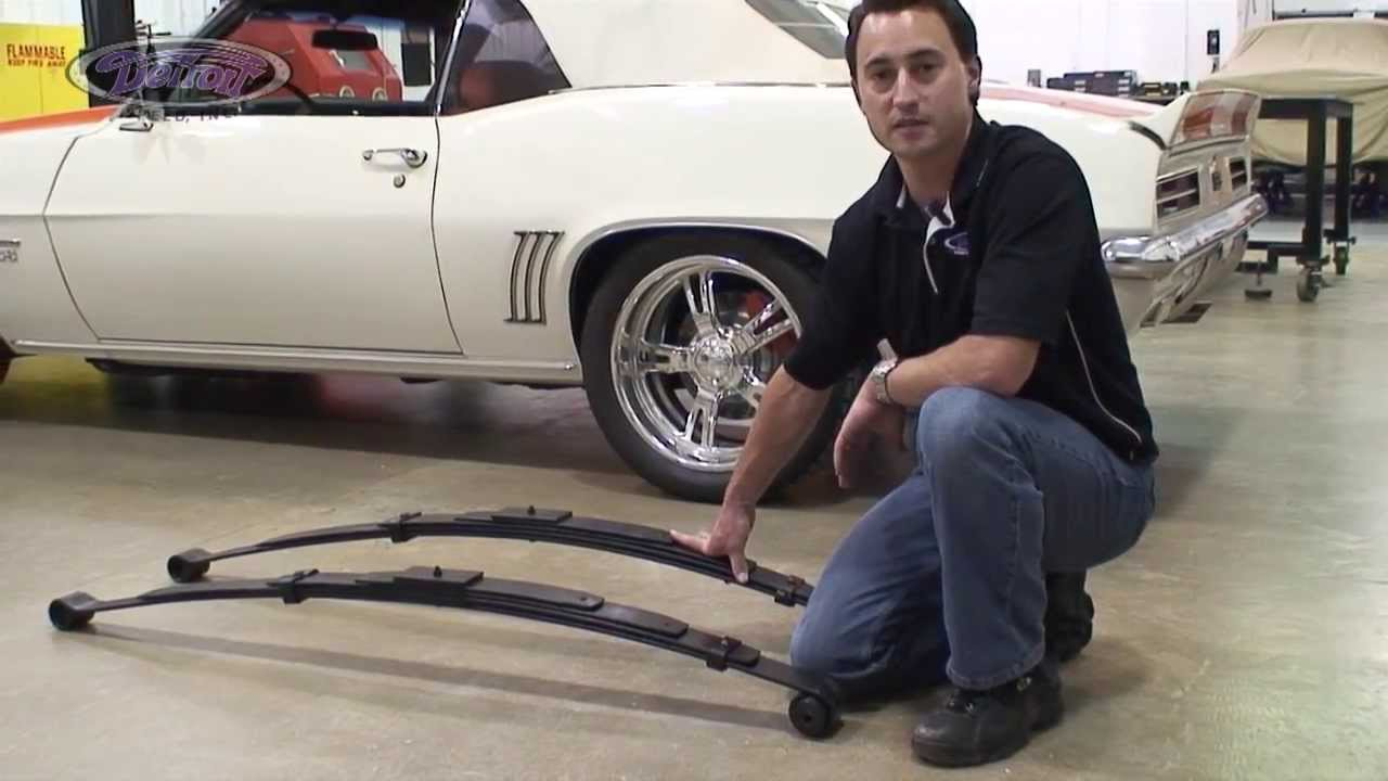 Detroit Speed Inc Tech Series Leaf Springs Youtube
