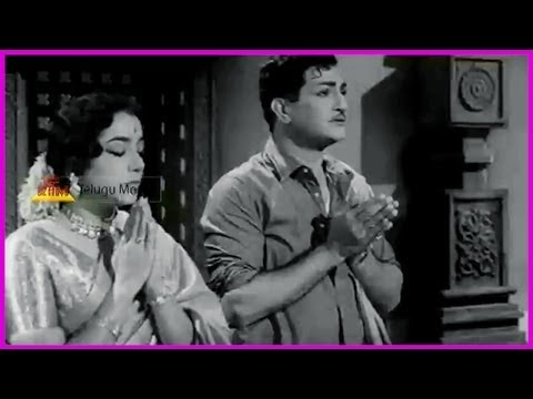 Ramu Telugu Movie  Scene - Ntr , Jamuna ,pushpalatha video