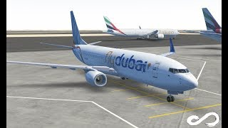 FlyDubai B737   Dubai to Hyderabad India   Infinite Flight Global