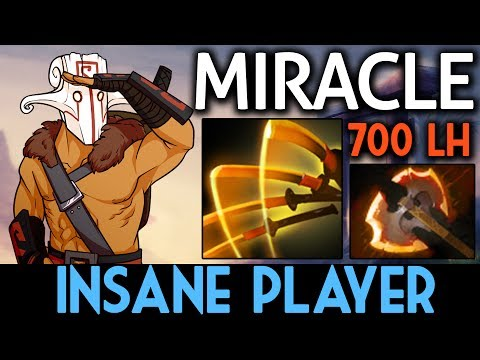 Miracle- Dota 2 [Juggernaut] Insane Player - Battle Fury Build