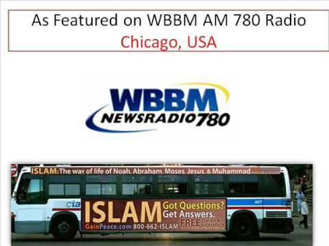 WBBM Radio AM 780-Islam Bus Ad Chicago-GainPeace.com