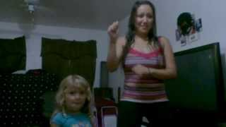 Just Dance - Gangnam Style (Mother & Daughter)