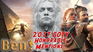 2017 Game of the Year Honorable Mentions! | Ben's OP Game Show Ep.113 FULL EPISODE