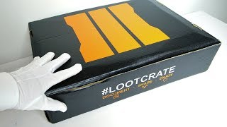 Call of Duty Black Ops 3 LIMITED BOX Unboxing! (Loot Crate Limited Edition)