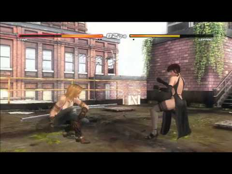 Dead or Alive 5 Ultimate (Tina vs Leifang) Hot Girls Fight (PS3 HD)