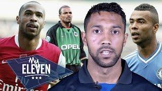 Gael Clichy picks his greatest ever team | Henry, Cole, Vieira & more!