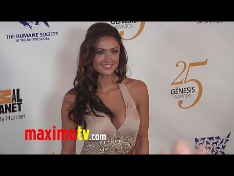 KATIE CLEARY On The Red Carpet at 25th Annual GENESIS AWARDS