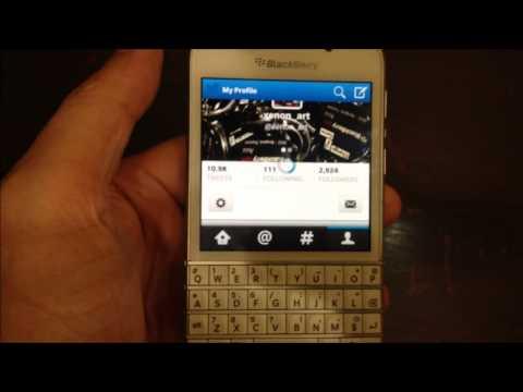 Review ทดสอบการใช้งาน Blackberry Q10 by xenon art