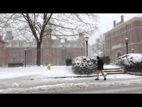 Morgantown, WV - Snowfall 1/21/14