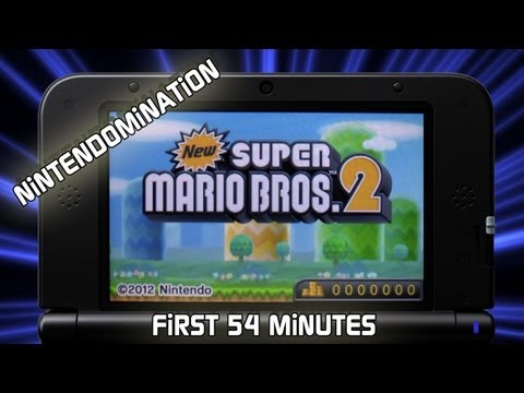 New Super Mario Bros 2 - Primeiros 54 minutos Gameplay
