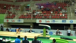 Rio de Janeiro - Test Event: Ludovico Edalli / Volteggio (qualifiche)