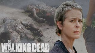 Carol Burns Sick Survivors | The Walking Dead Classic Scenes