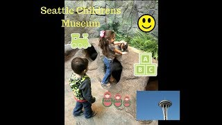 Fun play day at Seattle Children's Museum