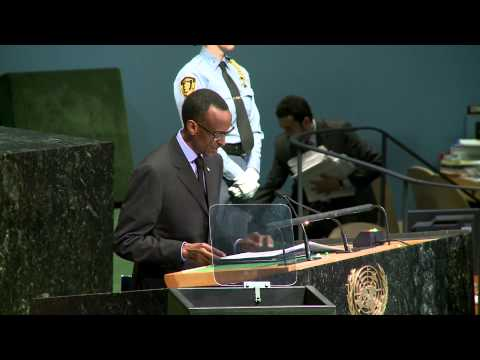 President Kagame addresses UNGA- New York, 25 September 2012