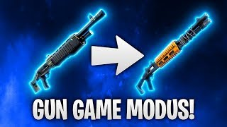 GUN GAME MODUS! 🎯 | Fortnite: Battle Royale
