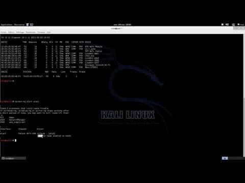 Utilisation Reaver Crack WPA PSK Kali Linux