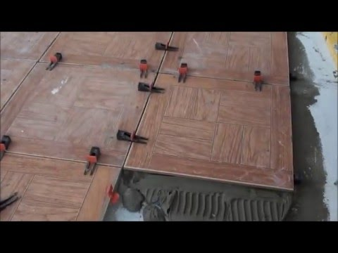 Укладка плитки своими руками - при помощи системы СВП.