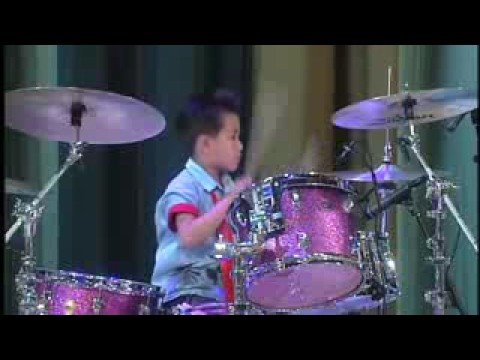 Joshua Hui - 5 Year Old Rockstar! Music Videos