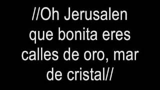 "Oh Jerusalen Version KARAOKE REMIX by ""ex dj chevy"""