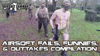 Airsoft Fails, Funnies and Out Takes Compilation