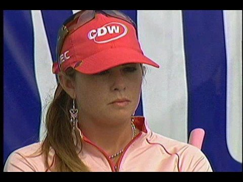 paula creamer wallpaper. Paula Creamer wins 2008 Samsung World 18th hole