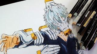 How to draw Shigaraki Tomura From MY HERO ACADEMIA (Boku No Hero Academia)