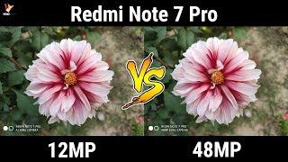 Redmi Note 7 Pro 48MP Camera Ka Sach | 12MP Camera vs 48MP Camera of Redmi Note 7 Pro | Data Dock
