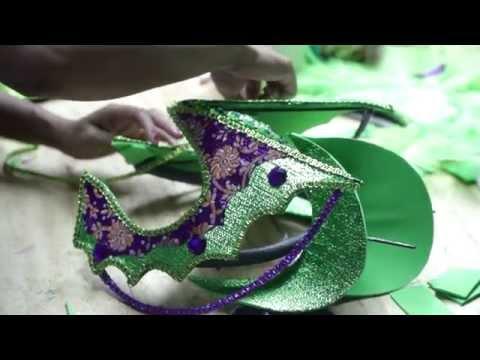 Trinidad: Carnival - Making Mas