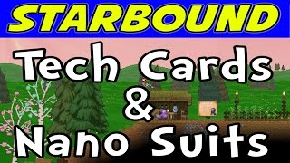 Tech slots starbound