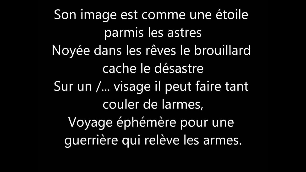 Morgane amour ephemere paroles youtube for Sarah riani miroir miroir parole