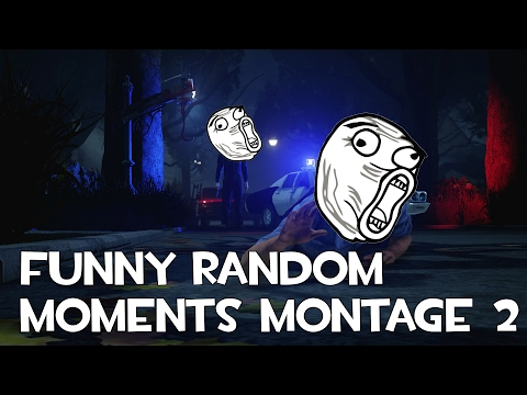 Dead by Daylight: Funny random moments montage 2