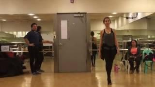 Jennylyn Mercado Catwalk Training