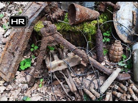 Hidden treasures of World War II - Eastern Front WWII Relic Hunting & Metal Detecting Episode 15 HD
