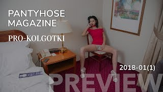 VERONIKA'S HOTEL FUN IN PANTYHOSE - PRO-KOLGOTKI 2018-01(1) magazine preview