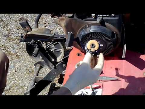 How To Remove And Clean Your Carburetor On Your Briggs  & Stratton Engine.