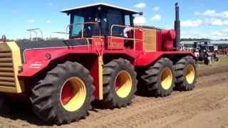 Versatile 1080 BIG ROY in parade at Austin Thresherman