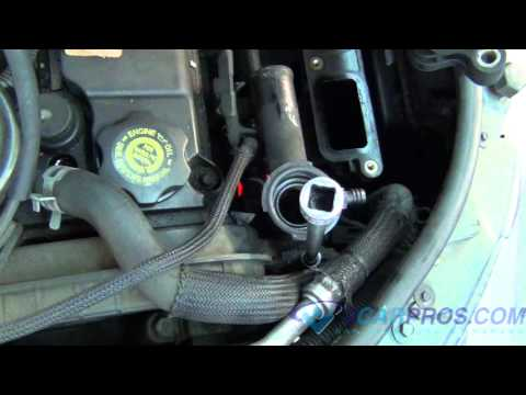 Thermostat and Upper Radiator Replacement Chrysler PT Cruiser.