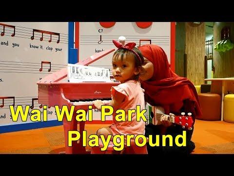 Wai wai Park Playground, My town Mall Cheras Malaysia | Righaz Family