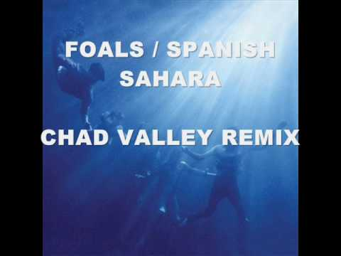 Foals - Spanish Sahara (chad valley remix) video.wmv