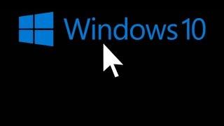 Como solucionar la pantalla negra con el cursor tras actualizar a Windows 10.