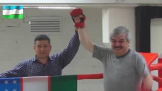 Усман Баратов  спортивен, готов к боям! Бокс и борьба! В здоровом теле, здоровый дух!