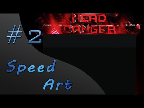 Speed Art #2 || BG for XxHeadBangerxX98