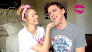 My Girlfriend Does My Makeup TAG!