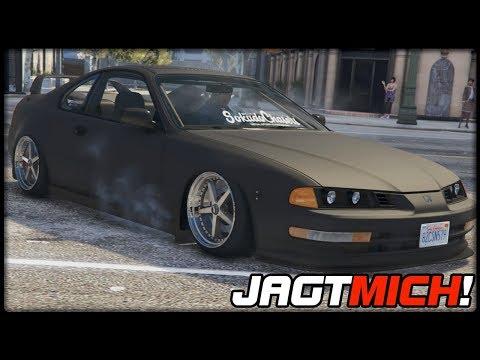 GTA 5 JAGT MICH! #100   Honda Prelude (1992)   Deutsch - Grand Theft Auto 5 CHASE ME