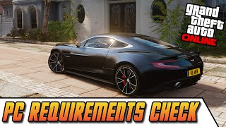 GTA 5 PC - Easy PC Requirements Check | Can Your Computer Run GTA 5 PC? (System Requirements)